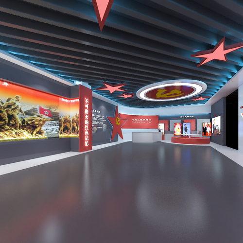 党建展厅360度全景