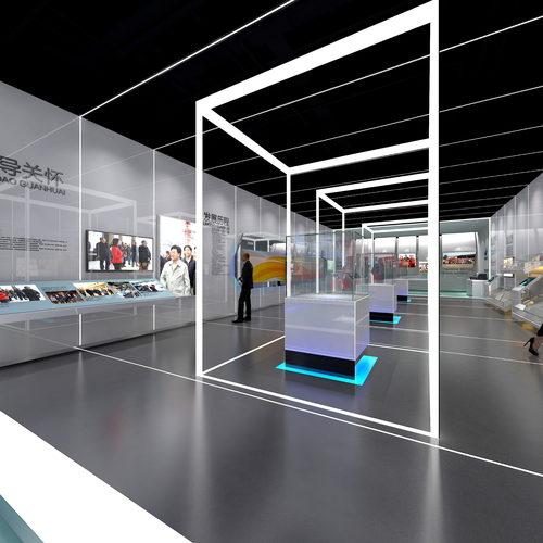 精品科技企业展厅设计